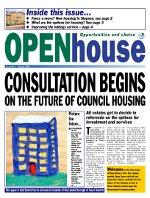Paul Bloss Tower Hamlets propaganda Open House Issue 1 - Aug 2001
