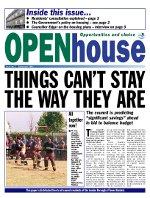 Paul Bloss Tower Hamlets propaganda Open House Issue 2 - Sept 2001