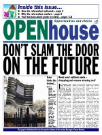 Paul Bloss Tower Hamlets propaganda Open House Issue 6 - Feb 2002