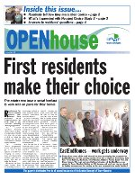 Paul Bloss Tower Hamlets propaganda Open House Issue 10 - Feb 2003