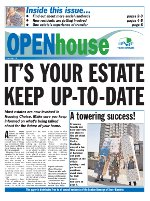 Paul Bloss Tower Hamlets propaganda Open house Issue 13 - September 2003