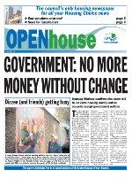 Paul Bloss Tower Hamlets propaganda Open house Issue 15 - March 2004