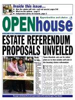 Paul Bloss Tower Hamlets propaganda Open House Issue 3 - Oct 2001